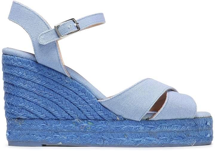 02e7893d024 Blaudell Cotton-canvas Wedge Espadrille Sandals