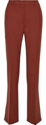 Agnona Pleated Twill Straight-leg Pants