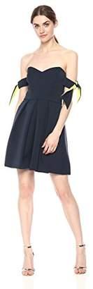 Milly Women's Stretch Crepe Gia Dress