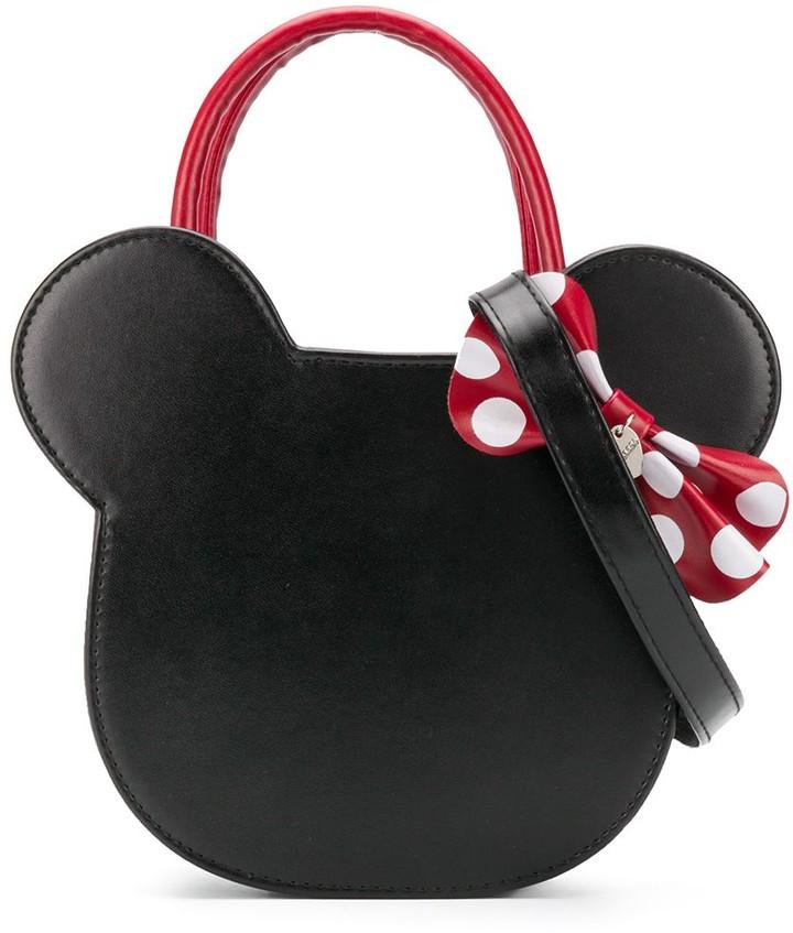 MonnaLisa Minnie head shoulder bag