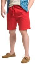 Jachs NY Elastic Waist Stretch Twill Shorts (For Men)