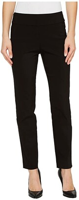 Krazy Larry Pull-On Ankle Pants (Black) Women's Dress Pants