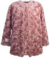 Stella McCartney Wool Blend Fur Free Fur 3/4 Coat