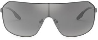 Prada 37MM Mirrored Shield Sunglasses