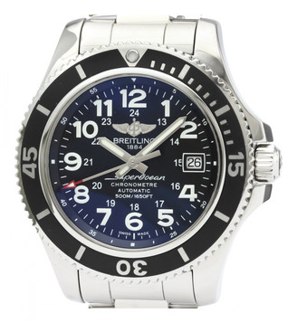 Breitling SuperOcean Black Steel Watches