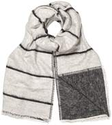 Oliver Bonas Double Faced Stripe Scarf