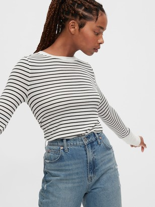 Gap Cozy Ribbed Button-Cuff Shirt