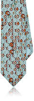 Prada Men's Abstract-Medallion-Print Silk Necktie