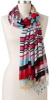 Apt. 9 candy cane striped scarf