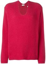 Moncler ribbed loose fit sweater