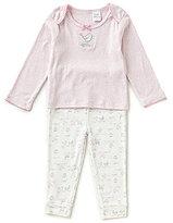 Starting Out Baby Girl 12-24 Months Bird Long-Sleeve Top & Printed Pants Pajama Set