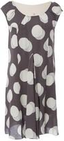 Christian Dior Grey Silk Dresses