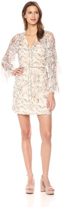 Haute Hippie Women's Romani Ruffle Dress