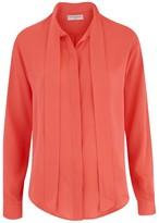 Amanda Wakeley Sinai Fluoro Tie Shirt