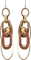 Aris Geldis Short Wood Earrings
