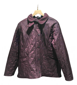 Barbour Burgundy Polyester Jackets