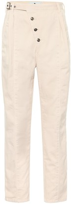 Etro Exclusive to Mytheresa High-rise cotton tapered pants