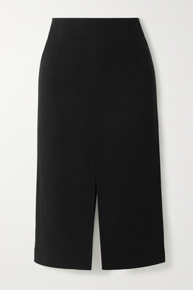 Roland Mouret Moka Wool-crepe Pencil Skirt - Black