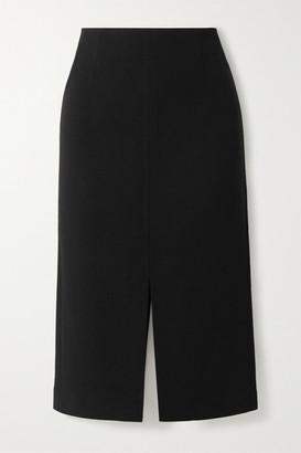 Roland Mouret Moka Wool-crepe Pencil Skirt - Black