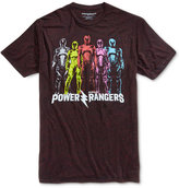 Bioworld Men's Power Rangers Confetti Graphic-Print Cotton T-Shirt