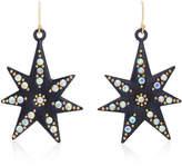 Lulu Frost Orana Gold-Plated Crystal Star Earrings