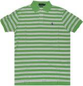 Polo Ralph Lauren Men's Custom Fit Striped Polo Shirt (L, )