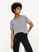 Tommy Hilfiger Sheer Striped T-Shirt