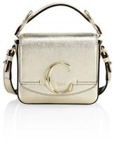 Chloé Mini C Metallic Leather Crossbody Bag