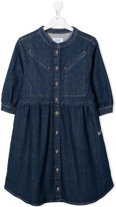 Givenchy Kids TEEN button-down denim dress