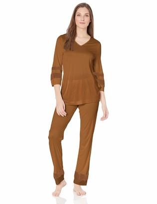 Hanro Women's Enna 3/4 Sleeve Pajama Set