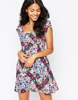 Love Printed Floral Dress