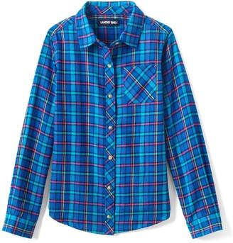 Lands' End Girls Girls Flannel Shirt