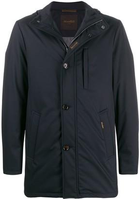 Moorer Hooded Long Sleeved Jacket