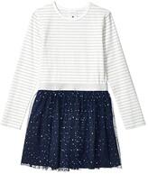 Toobydoo Tulle Dress (Toddler/Little Kids/Big Kids) (Multicolor Striped) Girl's Clothing