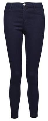 Dorothy Perkins Womens Petite Blue 'Frankie' Super Soft Skinny Jeans, Blue