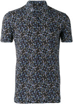 Fendi paisley print polo shirt - men - Cotton - 46