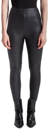 Lysse Matilda Foil Medium Control Vegan Leather Leggings