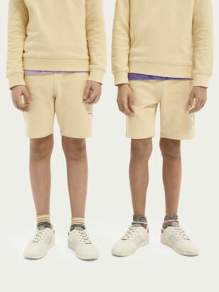 Scotch & Soda Unisex organic cotton sweat shorts | Unisex kids
