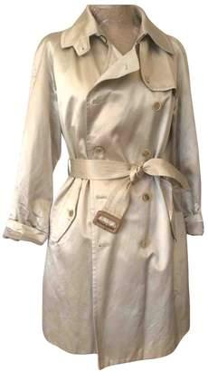 Maison Margiela Ecru Cotton Trench Coat for Women