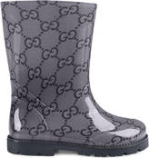 Gucci Toddler GG rubber rain boot