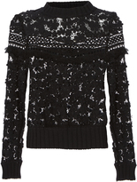 Sea 3D Lace Sweatshirt