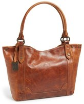 Frye 'Melissa' Washed Leather Tote - Brown