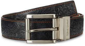 Robert Graham Textured Reversible Leather Belt