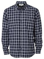 Jeanswest Flynn check Overshirt-Ink Multi-S