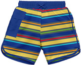 I Play Royal Blue & Yellow Swim Diaper Trunks - Infant