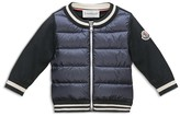 Moncler Boys' Contrast Sleeve Down Jacket - Baby