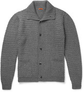 Barena - Basketweave Wool-blend Cardigan