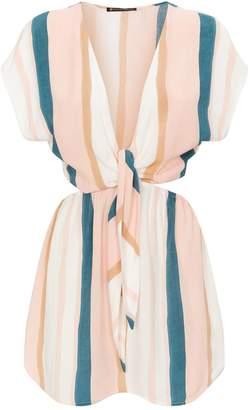 Vix Chimera Cut-Out Dress