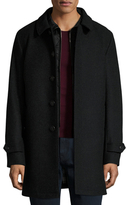 Burberry Marcham Wool Car Coat with Warmer