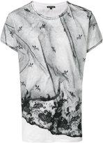 Ann Demeulemeester lace print T-shirt